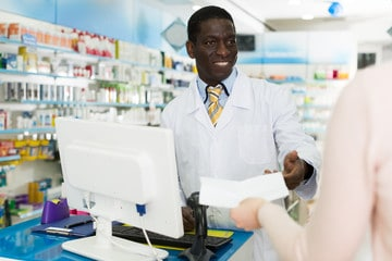 Nigerian taking medications
