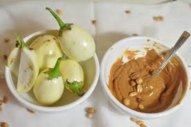garden egg and groundnut paste