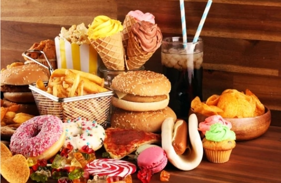Health Effects of Eating Junk Food